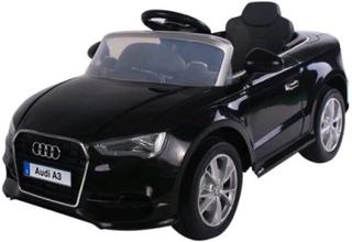 Audi A3, 12V Elbil, svart med Fjärrstyrning - Elbil till barn 985232
