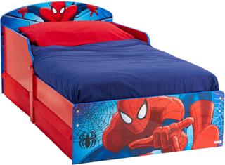 Spider-Man juniorsäng utan madrass - Spiderman Barnmöbler 658864