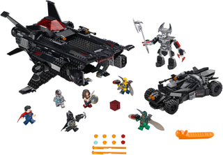 Flying Fox: Batmobilen i luftbroangrep - LEGO 76087 DC Comics Justice League