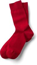 Business light Socken in Rot: starken Schrittes