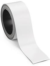 Magnetische Etiketten auf der Rolle, weiß 5 m x 40 mm RESTPOSTEN