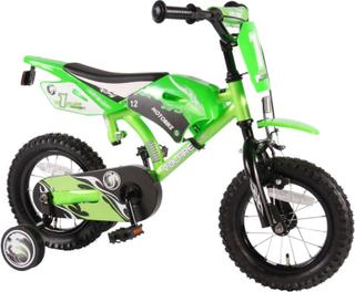 Barncykel Motorcykel Grön 12 t - Barncykel 612077