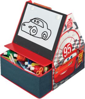 Cars Reol m. tavle - Disney Biler Børnemøbler 651469