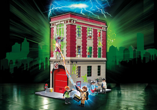 Ghostbusters Fire Station - Playmobil Ghostbusters 9219