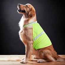 2 Farben Haustier Hund Reflektierende Nacht Kleidung Welpen Nacht Sicherheitsweste