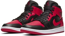Air Jordan 1 Mid Shoe - Black