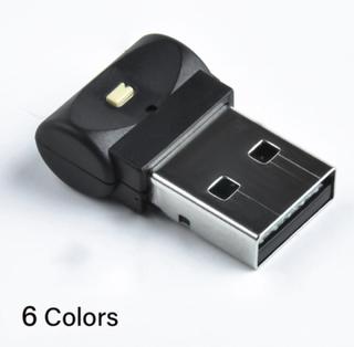 Mini Usb Ledde Bilbelysning Neonljus För Inre Ledd Atmosfär Black