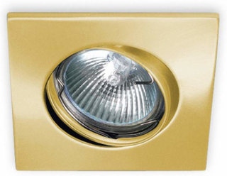 KARU innfelt belysning i børstet gull