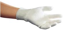 Gestrickte Handschuhe aus Baumwolle, Größe 7