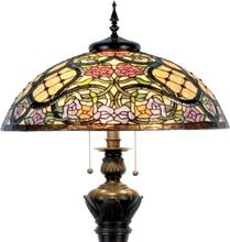Rosaly - golvlampa i Tiffanydesign