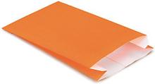 Bunte Papierbeutel orange 240 x 390 mm