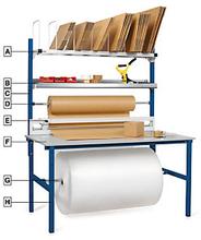 RAJA Komplett-Packplatz 1600 x 800 x 850