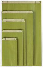 Beutel olivegrün 310 x 470 x 80 mm