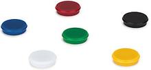 Magnete farbig sortiert, Ø 24 mm