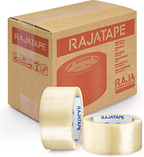 MINI PACK PP Packband Industriequalität RAJATAPE transparent 50 mm x 66 m - 32 µ