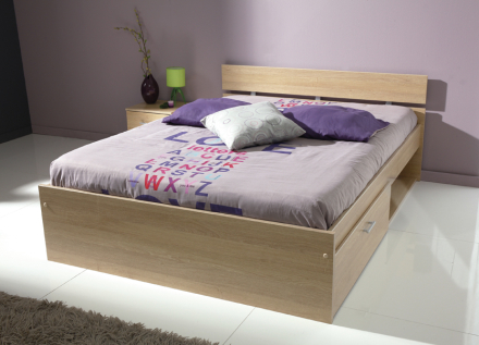 Infinity Baltic Oak seng med skuff