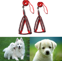 Verstellbare Haustier Katze Nylon Harness Collar Sicherheit Walking Leine Lead Dog Harness Supplies