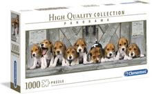 Pussel HQ Kollektion Panorama 1000 bitar - Beagle