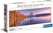 Pussel HQ Kollektion Panorama 1000 bitar - Lake Wanaka Tree
