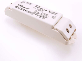 Adapter med 24 volt for LED
