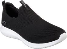 Skechers Womens Ultra Flex Black White