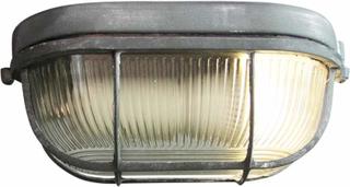 Bobbi - robust lampe til båt i betonggrå