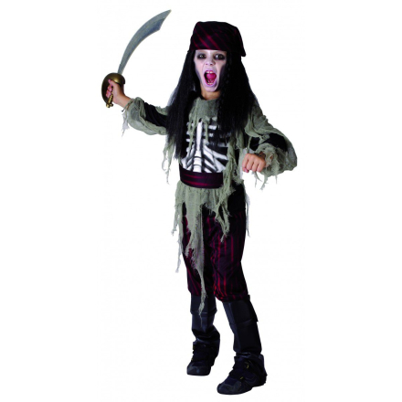RIO - Halloween Ghost Pirate - Small -120 cm (42750)