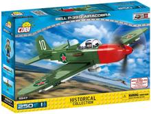 Cobi 5547 Small army Fly P-39Q Aircobra White 10 - 250 deler