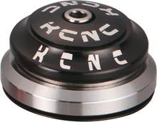 "KCNC KHS-PT1860 Styrfitting tapered 1 1/8""-1,5"" integrated, black 2020 Styrfittings Integrerede"