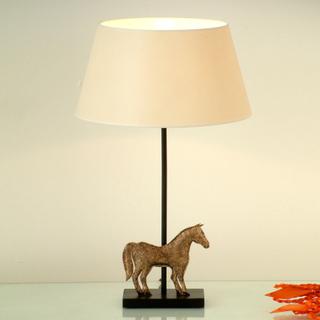 Smyckad bordslampa Solisti Cavallo
