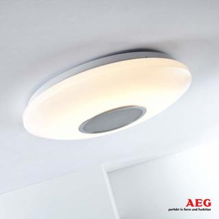 AEG LED-taklampe Bailando - lys og lyd
