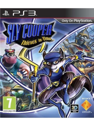Sly Cooper: Thieves in Time - Sony PlayStation 3 - Toiminta/Seikkailu
