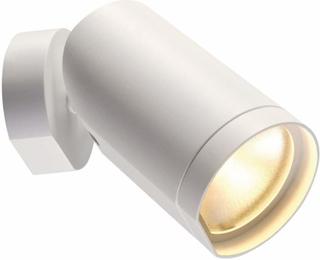 Dreibar LED-takspot Bilas med 1 lys, hvit