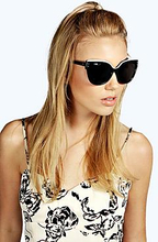 Emma Retro Frame Sunglasses