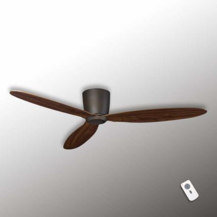 Flad loftsventilator Eco Plano, bronze