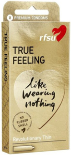 RFSU True Feeling Condoms 8-pack Intim Transparent