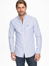 Selected Homme Slhregcollect Shirt Ls W Noos Kauluspaidat Sininen/Raidallinen