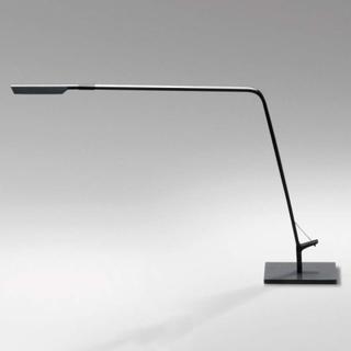 Flex koksgrå LED bordlampe med dimmer