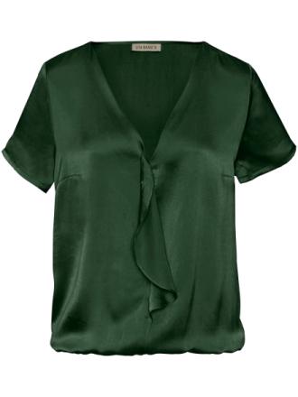Skjorte 100% silke Fra Uta Raasch grøn - Peter Hahn