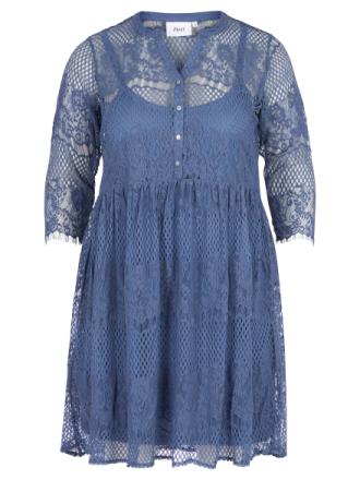 Klänning 3/4-ärm från zizzi blå
