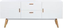 Nordic vit skänk- Bredd 160 cm