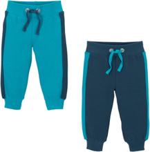 Sweatpants (set van 2), biologisch katoen