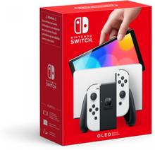 Nintendo Switch Konsoll OLED - Svart & Hvit