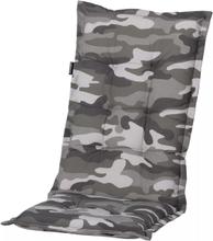Madison Stolsdyna med låg rygg 105x50 cm kamouflage MONLF368
