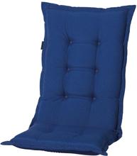 Madison Stolsdyna med hög rygg Panama 123x50 cm safirblå PHOSB231