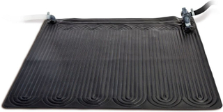 Intex soldrevet varmemåtte PVC 1,2 x 1,2 m sort 28685