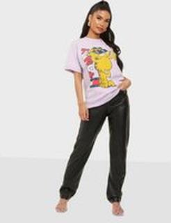 Tommy Hilfiger Abo Tju X Garfield Ss Tee Purple