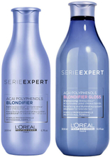 Loreal Professionnel Serie Expert Blondifier Gloss Shampoo 300ml & Conditioner 200ml
