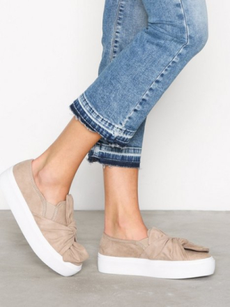 NLY Shoes Twist Platform Sneaker Beige