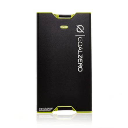 GoalZero Sherpa 40 Power Bank Laddare Svart OneSize